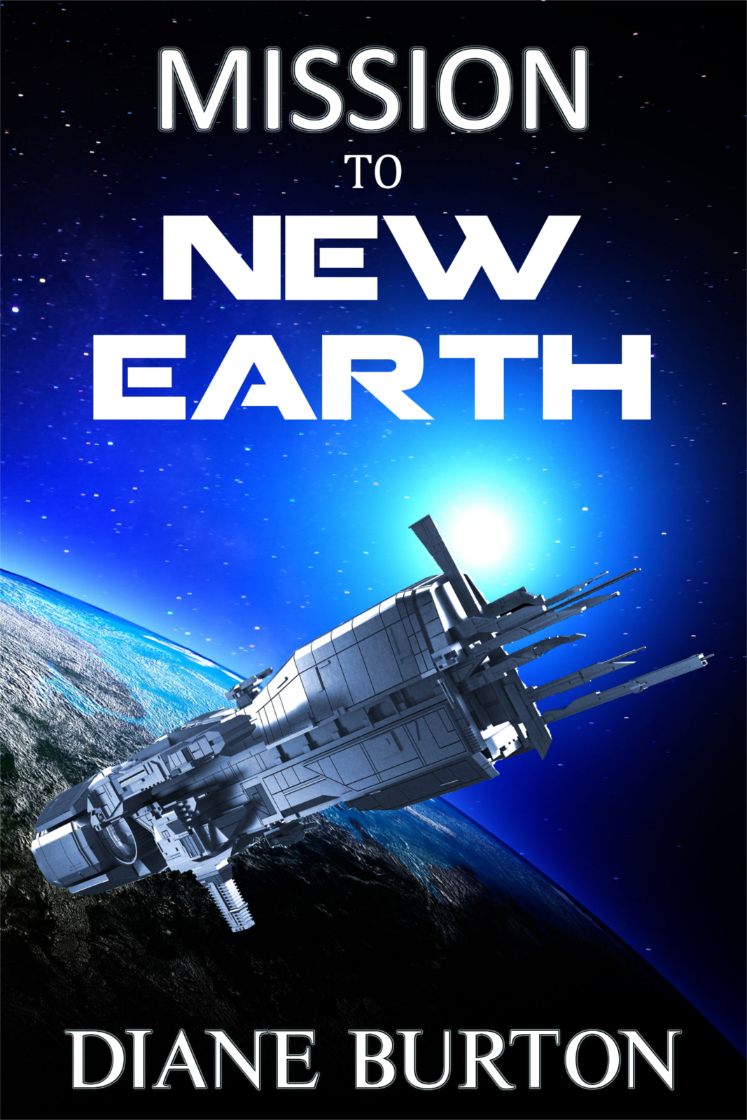 Mission to New Earth - B&N Cover
